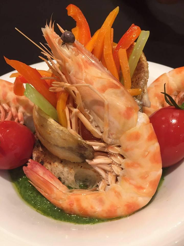 recchi fish restaurant gamberi